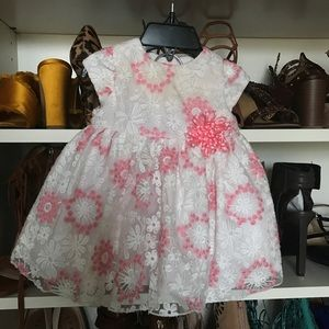Other - Floral and Lace Dress 6 month